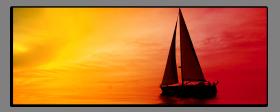 Obrazy západ slunce 2658