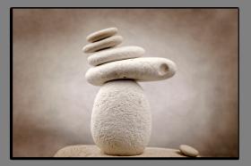 Obrazy zen kameny 2714