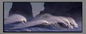 Obrazy moře 2735