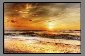 Obrazy západ slunce 2764