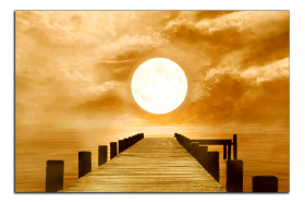 Obrazy západ slunce 2775