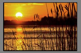 Obrazy západ slunce 2785
