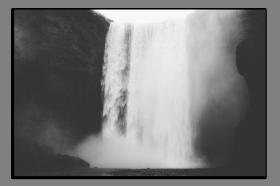 Obrazy vodopády 2830