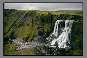 Obrazy vodopády 2858