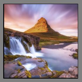 Obrazy vodopády 2871