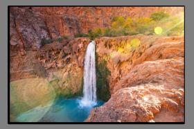 Obrazy vodopády 2881