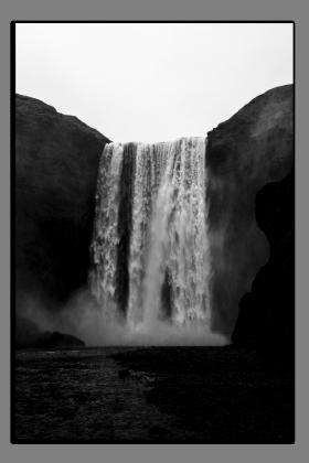 Obrazy vodopády 2884