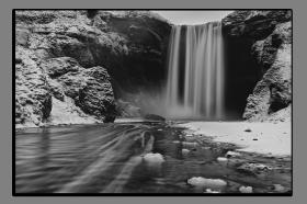Obrazy vodopády 2889
